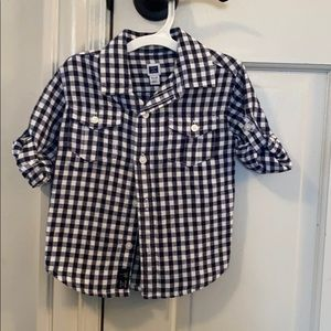 Janie and Jack button down shirt.
